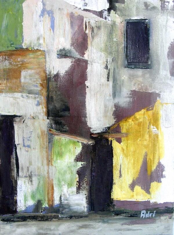 """Ha Noi"" painting by Adri Moller"