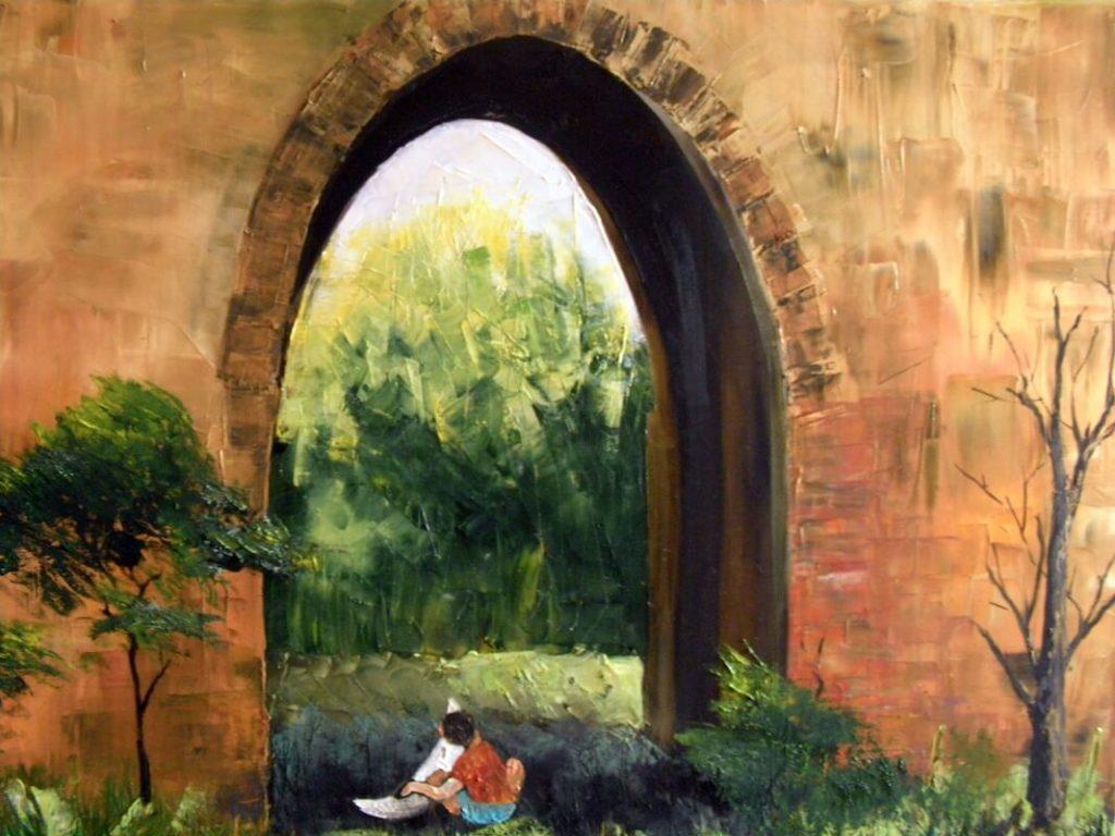 """A Vietnamese Boy"" painting by Adri Moller"