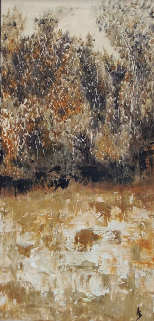 """""""Autumn"""" painting by Adri Moller"""